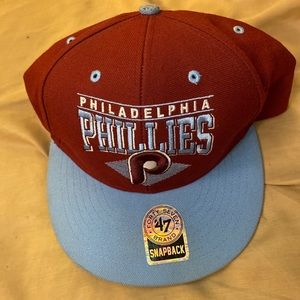MLB '47 Brand Philadelphia Phillies Wool Snapback
